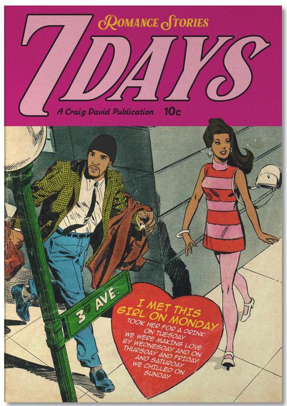Films, Pop Art, 7 Days bloc-notes