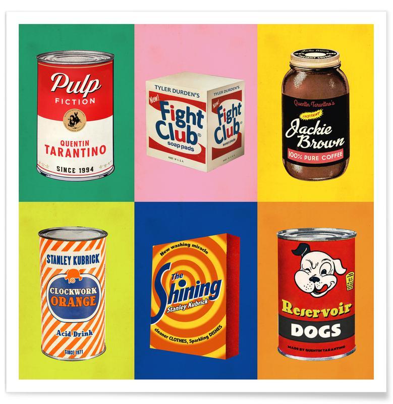 Pop Art, Films, Pop Shots affiche
