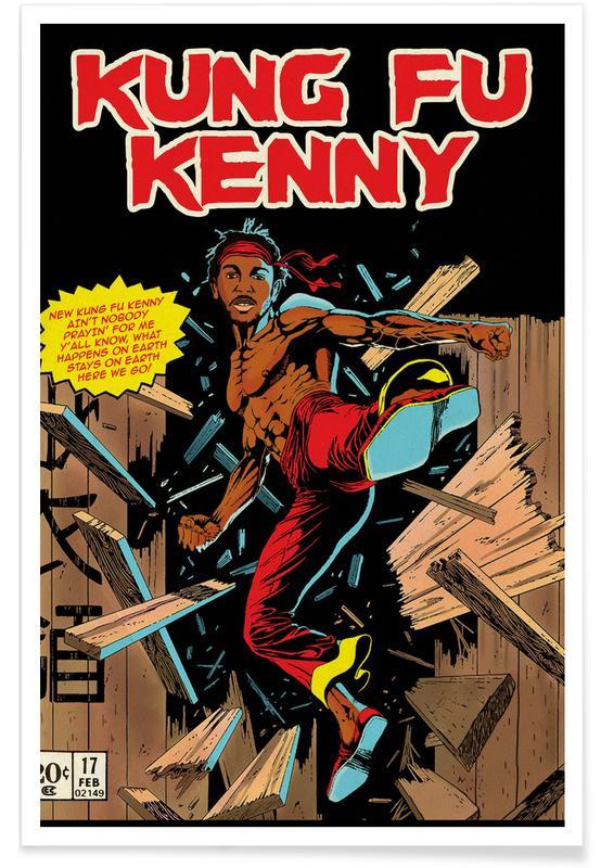 Pop Art, Films, Kung Fu Kenny affiche
