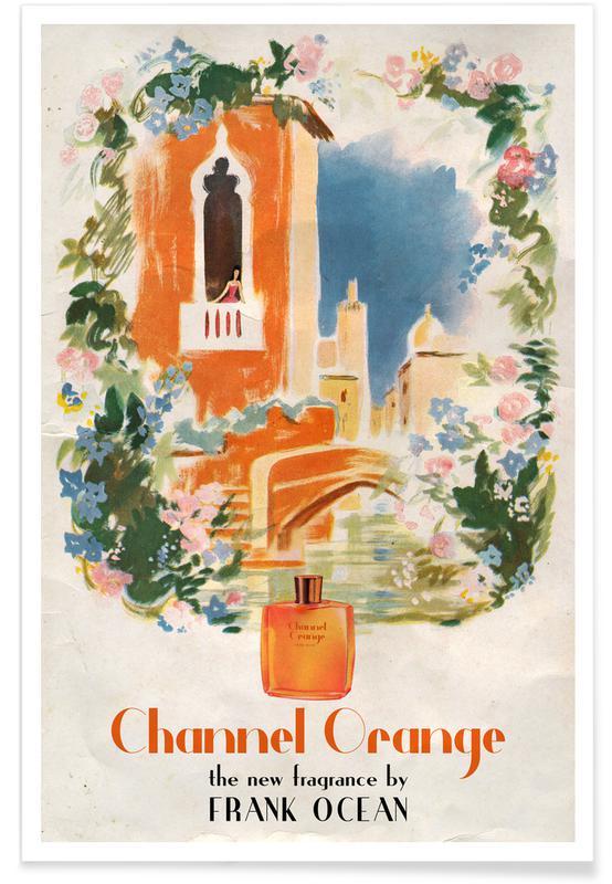 Movies, Pop Art, Channel Orange Poster