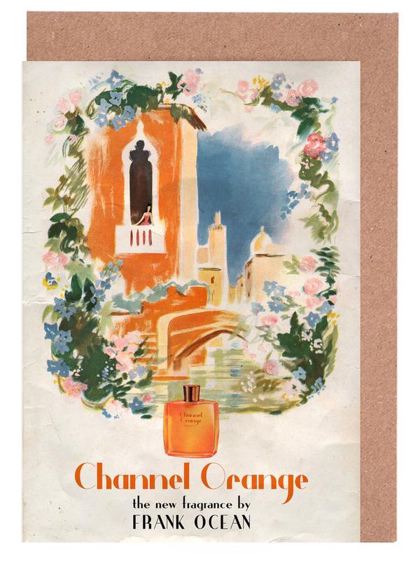 Pop Art, Films, Channel Orange cartes de vœux
