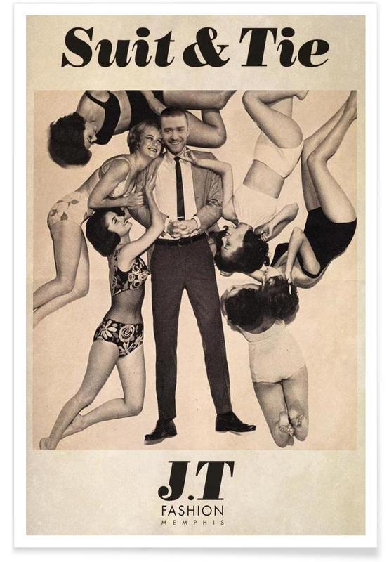 , Suit & Tie affiche
