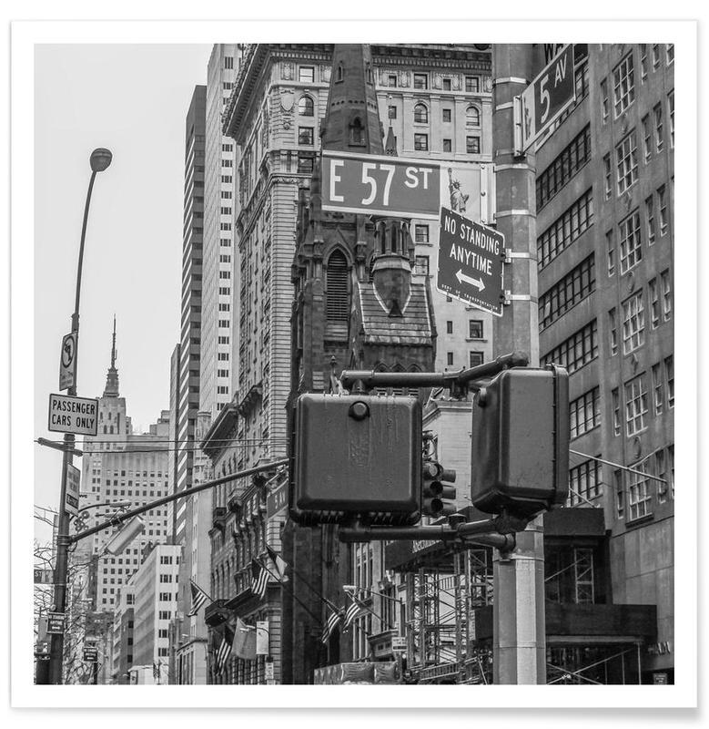 E 57th Street poster