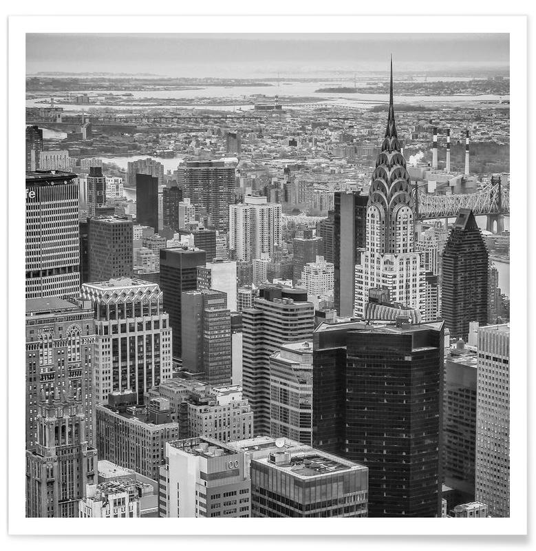 New York Skyline -Poster