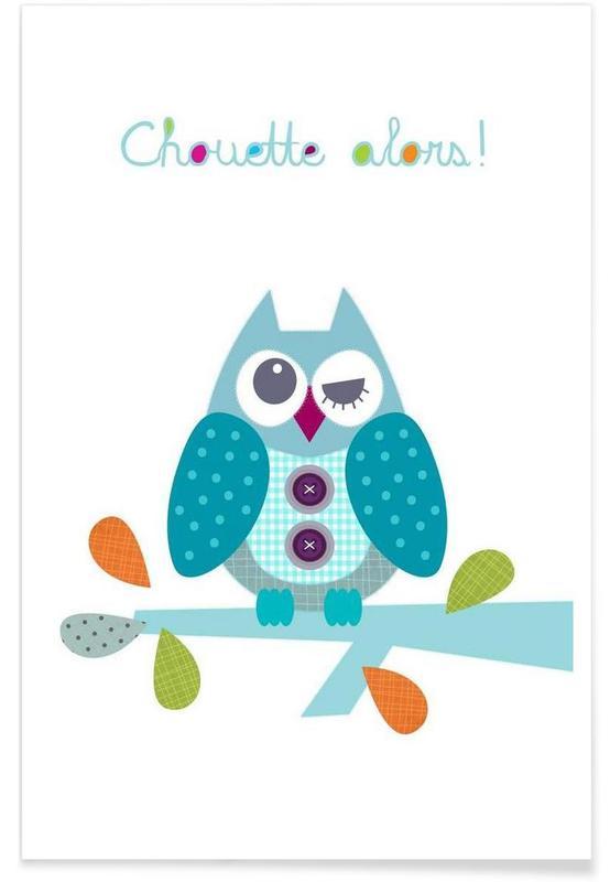 Kunst voor kinderen, Chouette Alors poster