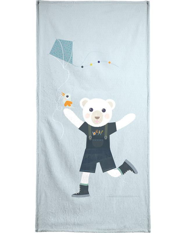 Beren, Kunst voor kinderen, Bear Kite handdoek