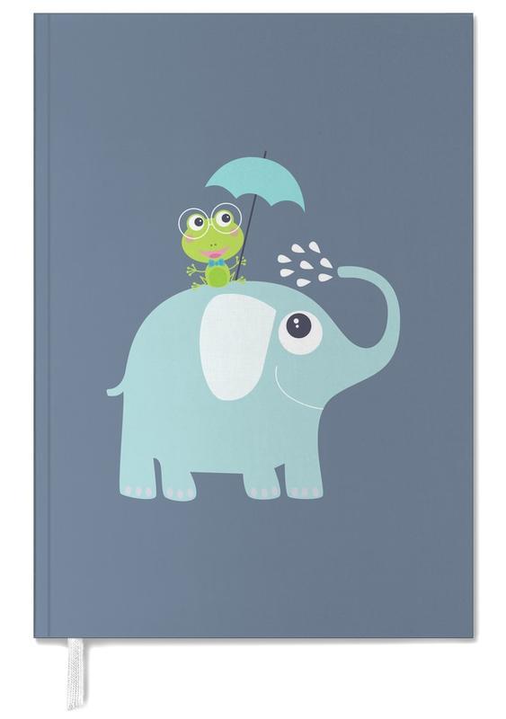 Éléphants, Art pour enfants, Elephant Frog agenda