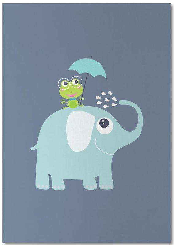 Elephant Frog Notepad