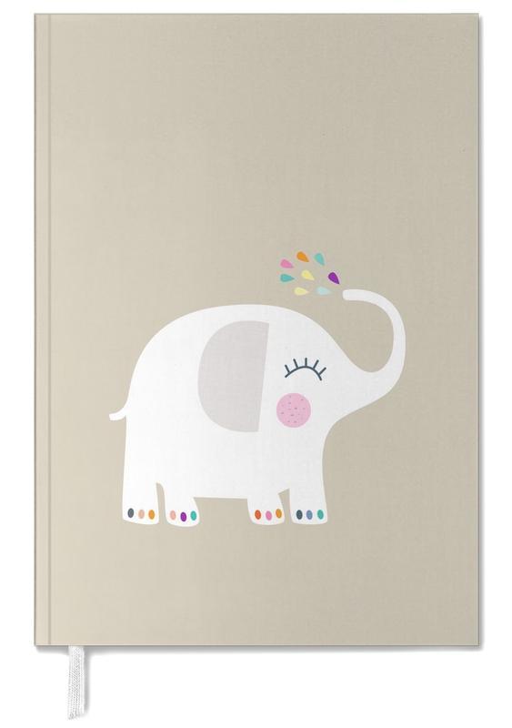Éléphants, Art pour enfants, Elephant Rainbow agenda