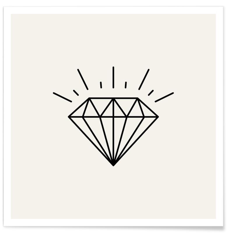 Symbolen, Diamond poster