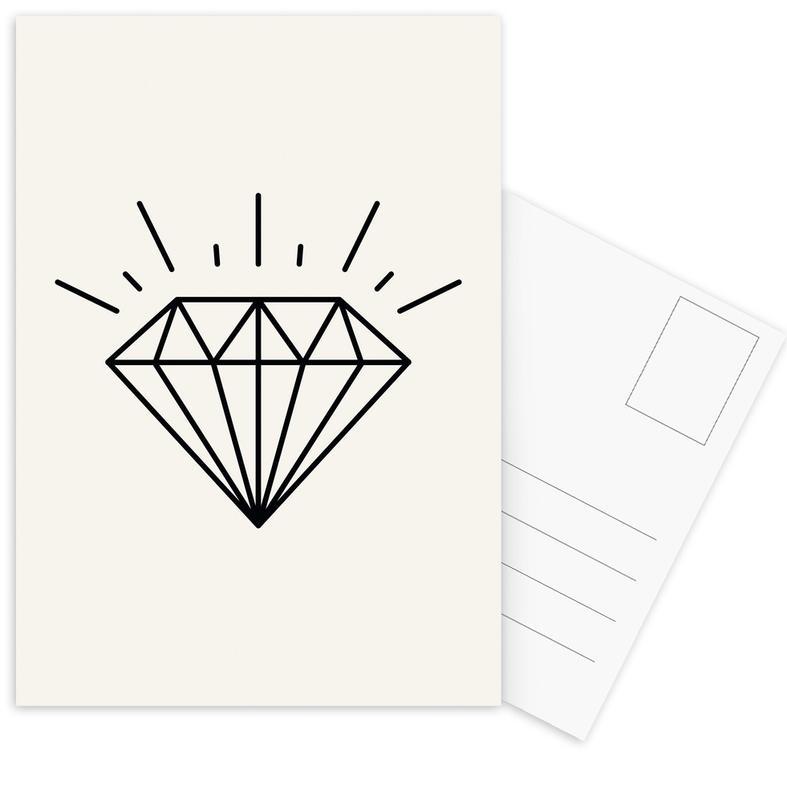 Symbols, Diamond Postcard Set
