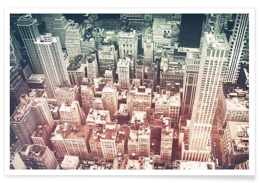 Manhattan's Buildings affiche