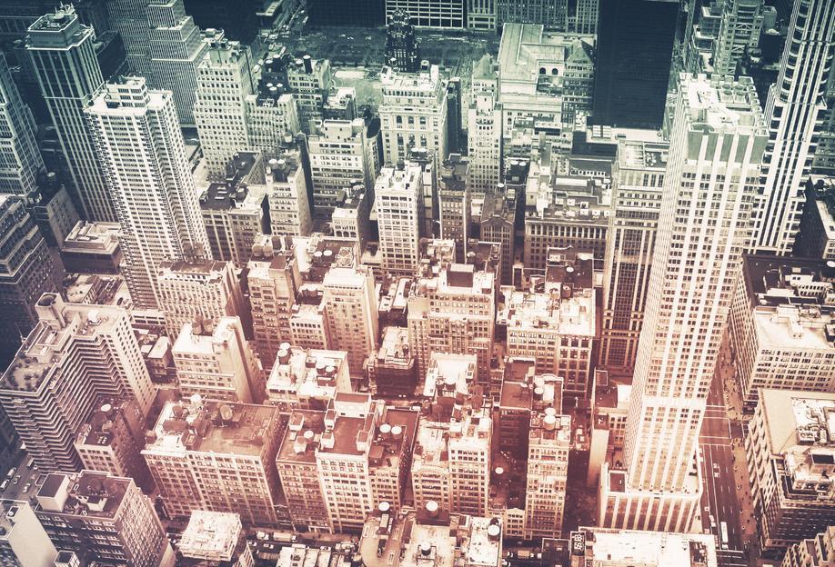 Manhattan's Buildings -Acrylglasbild