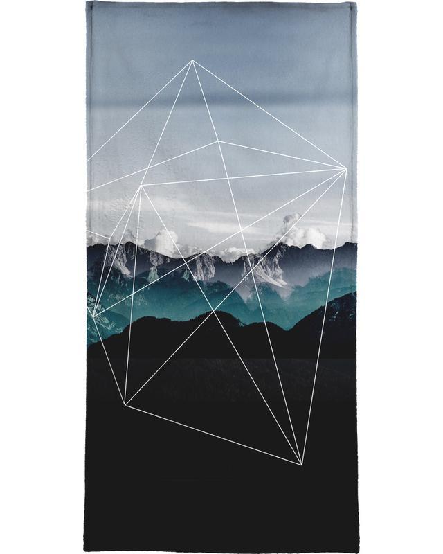 Mountains II -Handtuch