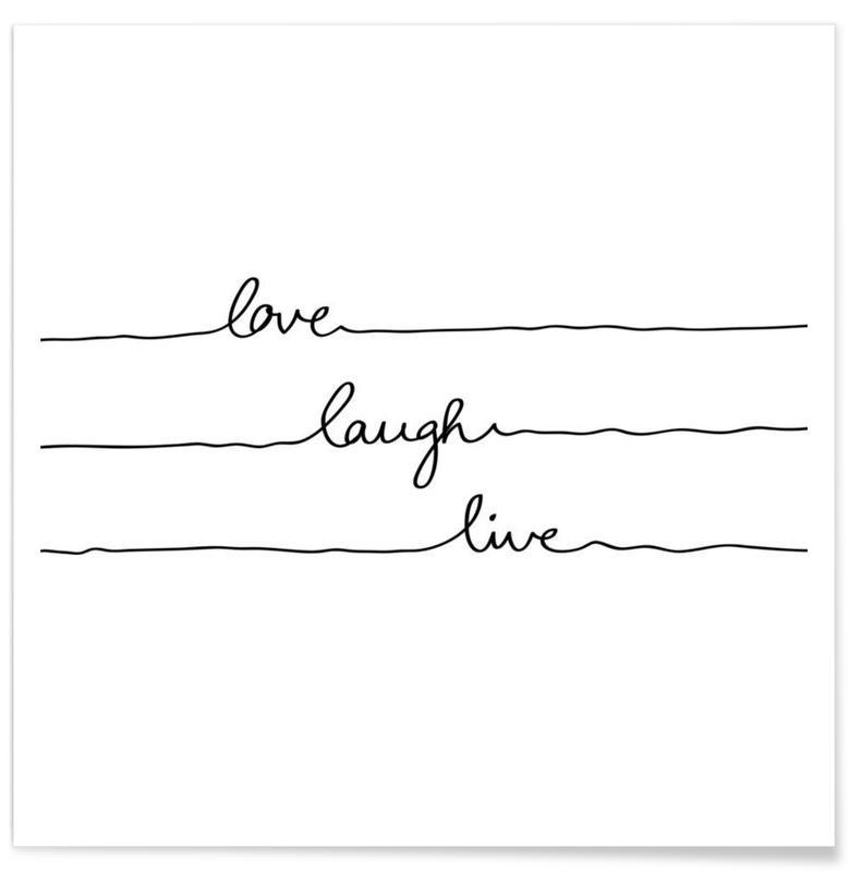 Love Laugh Live affiche