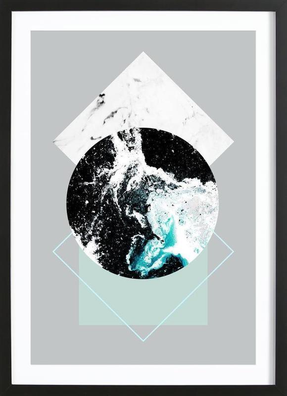 Geometric Textures 2 Framed Print