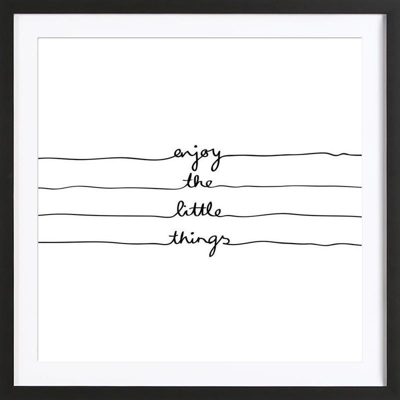 Little Things Framed Print