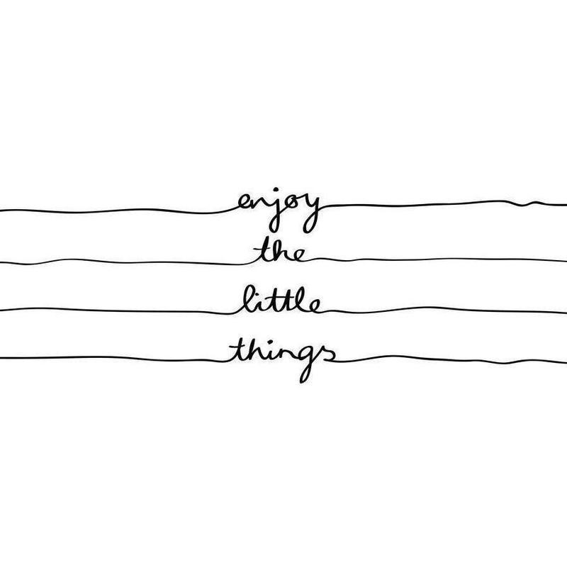 Little Things -Leinwandbild