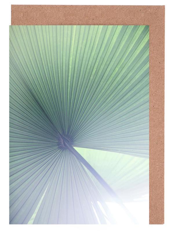 Palmen, Palm Leaves 5 -Grußkarten-Set