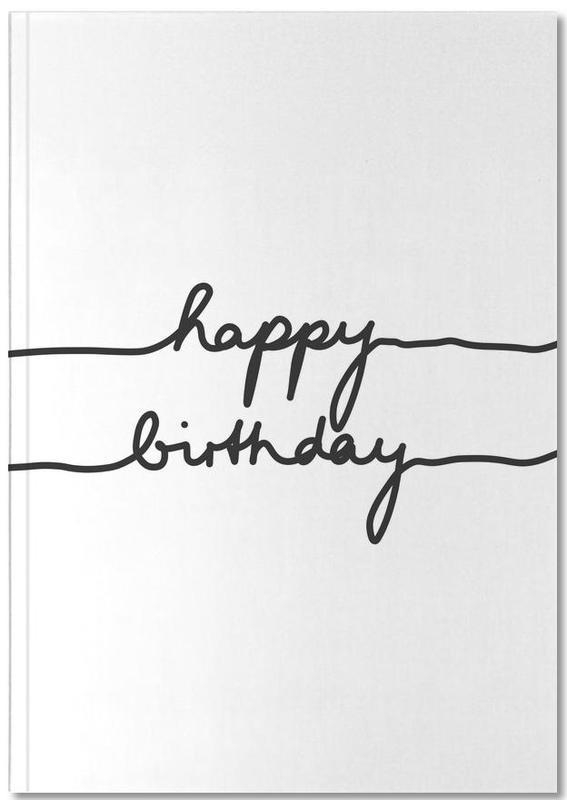Happy Birthday Notebook
