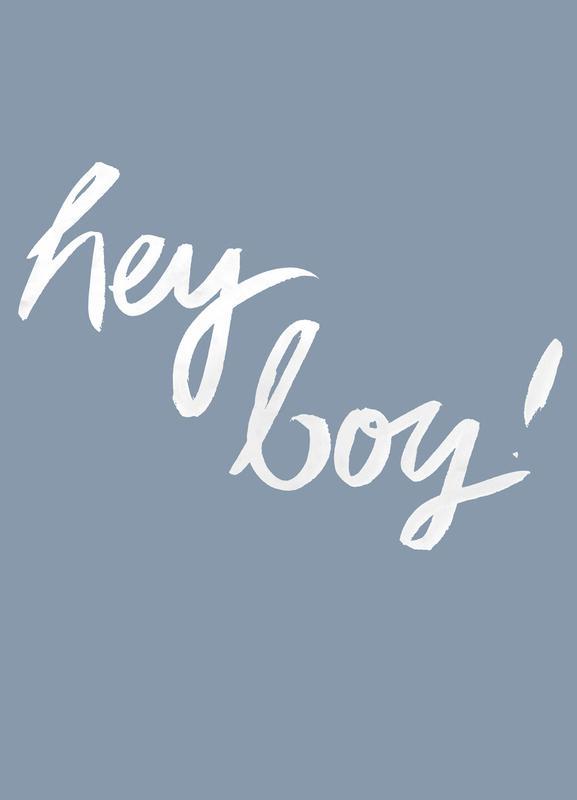 Hey Boy Canvas Print