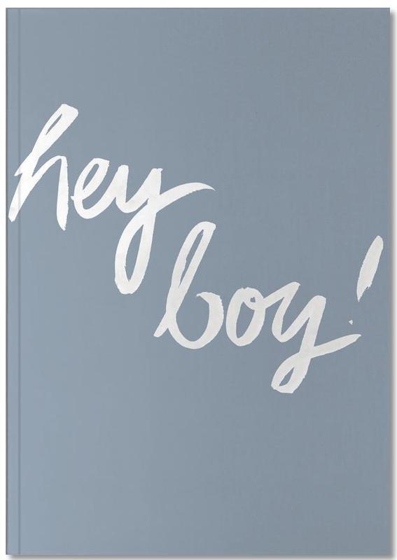 Geburt & Baby, Hey Boy Notebook