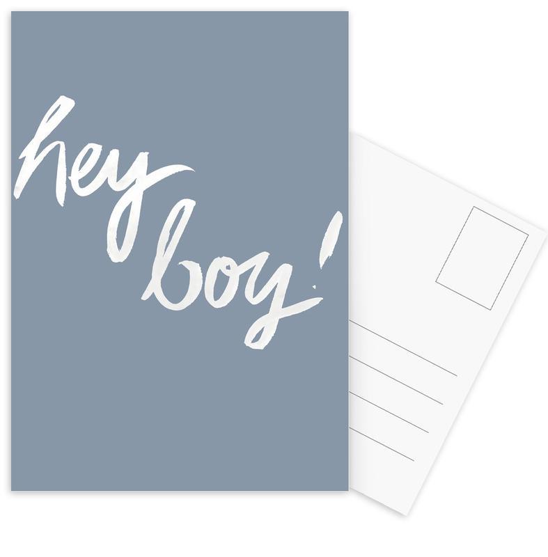 Hey Boy Postcard Set