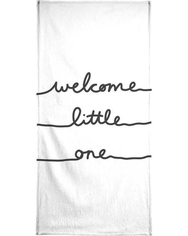 Welcome Little One Bath Towel