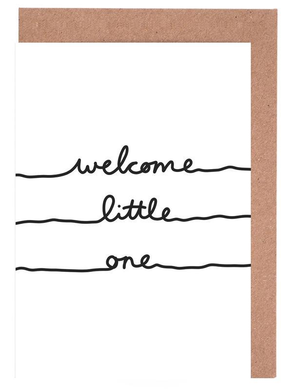 Welcome Little One -Grußkarten-Set