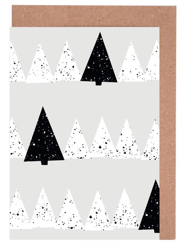 Snowy Forest Greeting Card Set