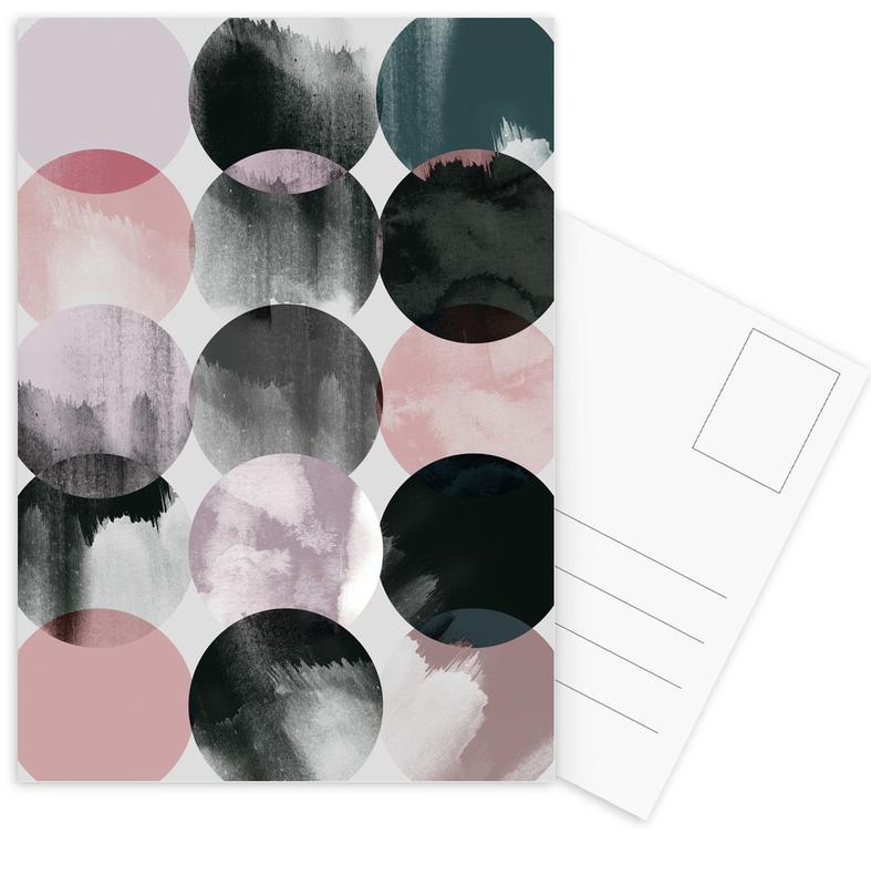 Minimalism 16 Postcard Set