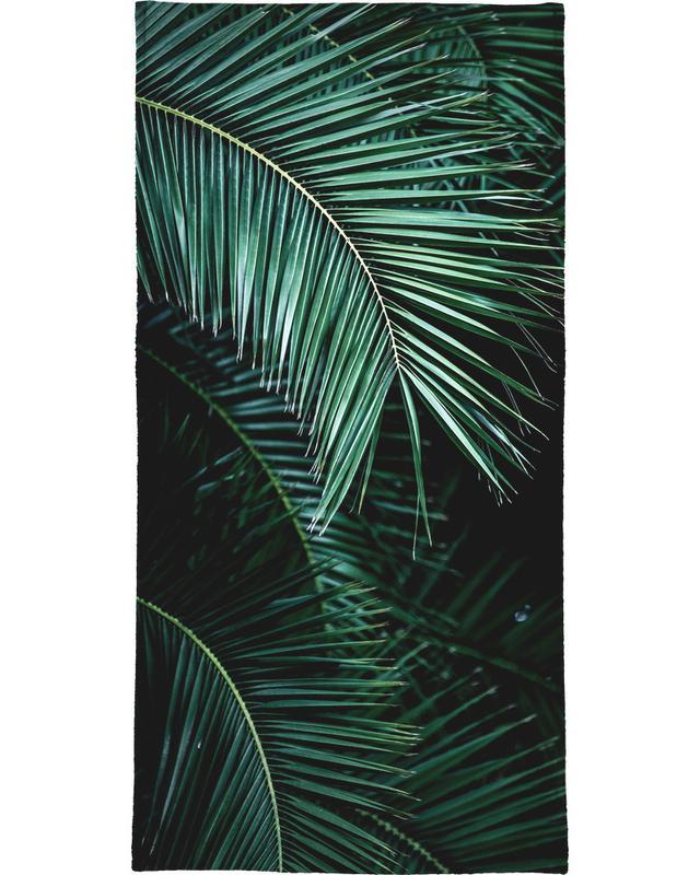 Palm Leaves 9 Beach Towel