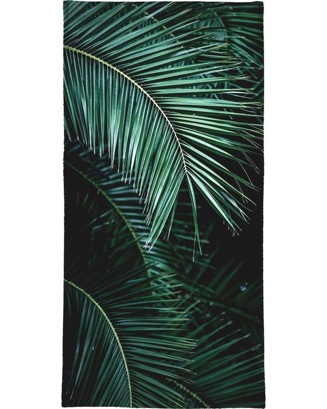 Palm Leaves 9 -Strandtuch