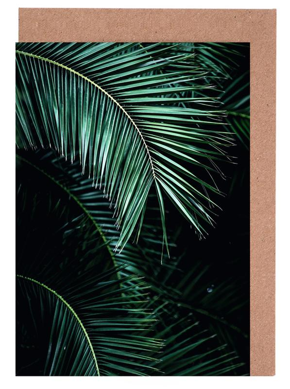 Palm Leaves 9 Greeting Card Set