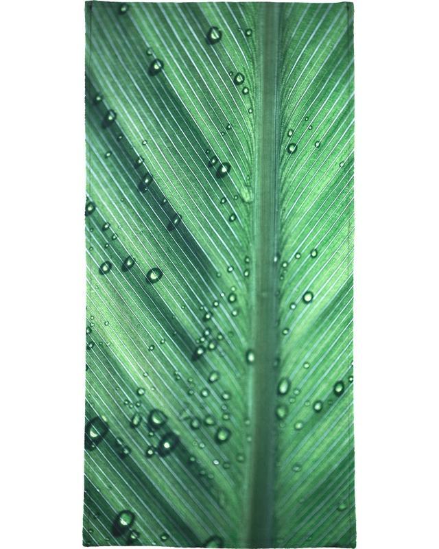 Palm Leaves 11 Beach Towel