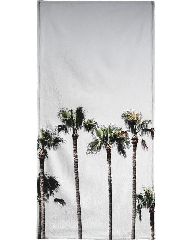 Palm Trees 5 Beach Towel