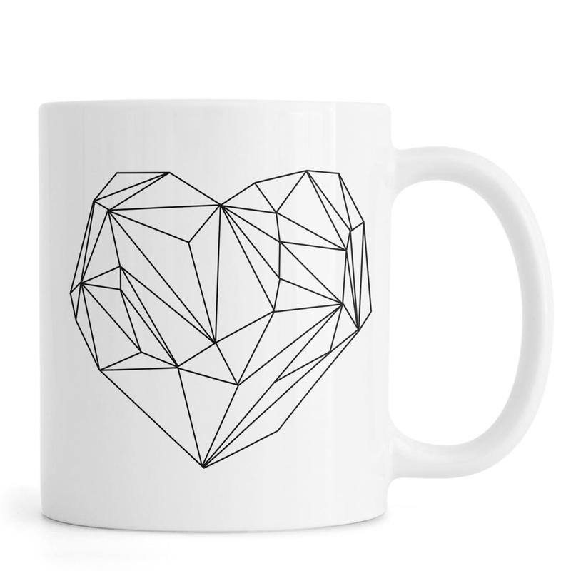 Heart Graphic -Tasse