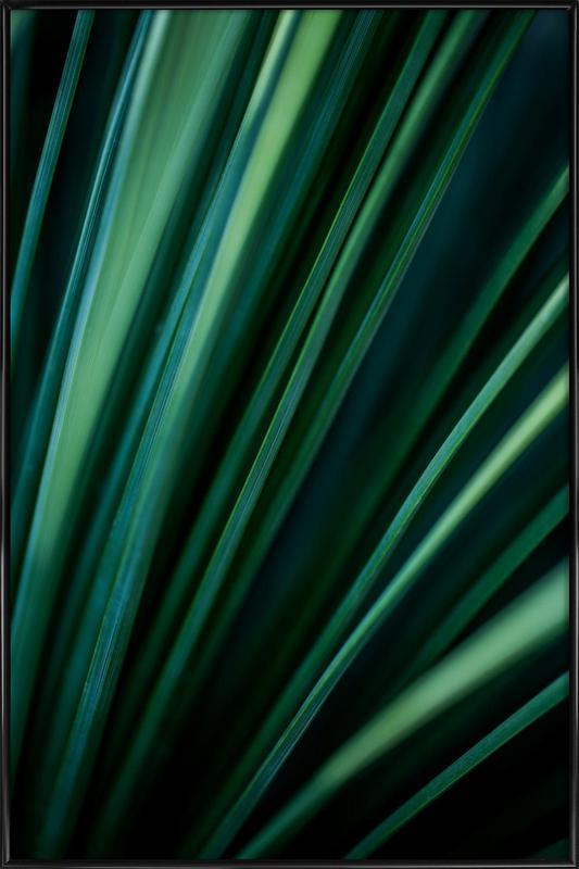 Green Straws 2 Framed Poster