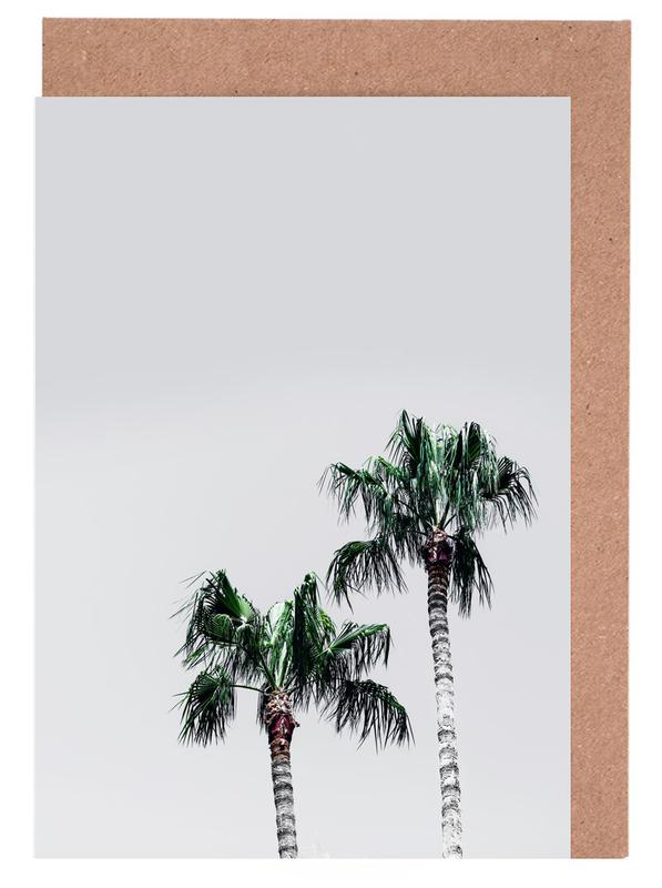 Palm Trees 6 Greeting Card Set