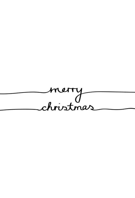 Holidays 1 - Merry Christmas alu dibond