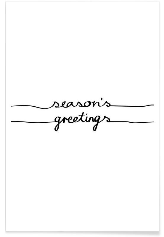 Holidays 1 - Seasons Greetings affiche