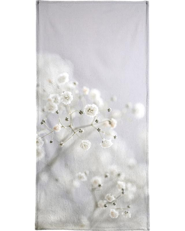 Baby's Breath Bath Towel