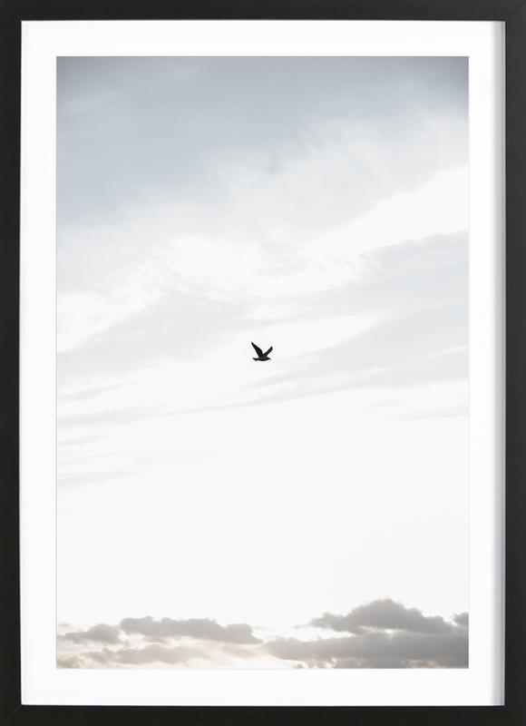 Flying High ingelijste print