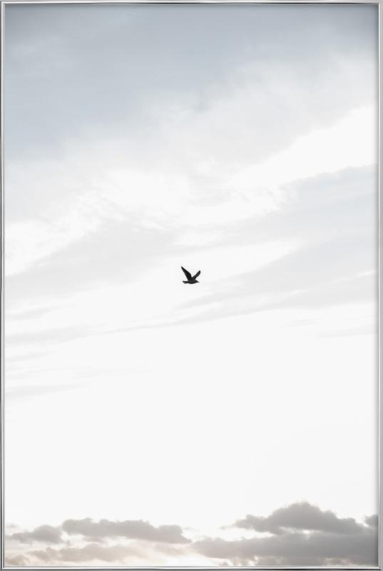 Flying High Poster in Aluminium Frame