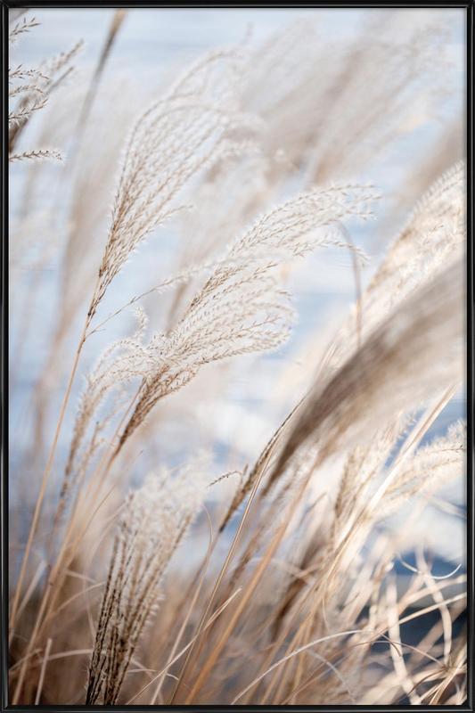Grass 5 ingelijste poster