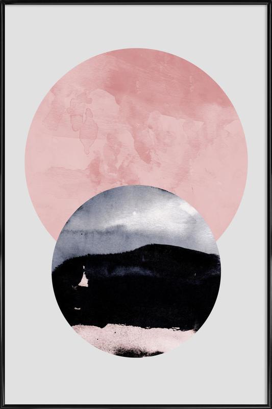 Minimalism 31 -Bild mit Kunststoffrahmen