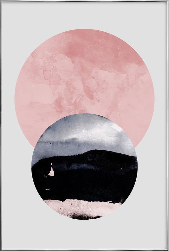 Minimalism 31 -Poster im Alurahmen