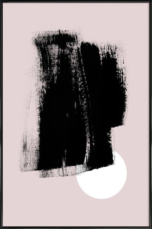 Minimalism 49 ingelijste poster