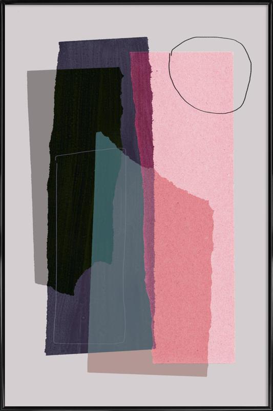 Pieces 5C ingelijste poster
