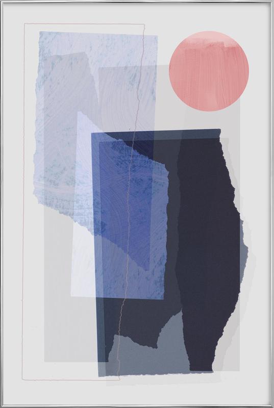 Pieces 10A -Poster im Alurahmen